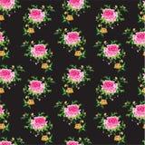 Fond floral sans couture Photo libre de droits