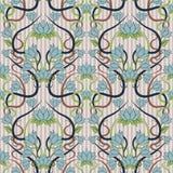 Fond floral sans couture dans le style d'Art nouveau Images stock