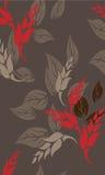 Fond floral sans couture de modèle - illustration Images stock