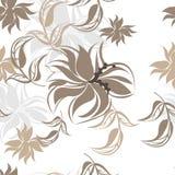 Fond floral sans couture de modèle - illustration Photographie stock