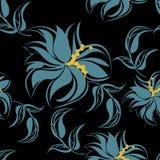 Fond floral sans couture de modèle - illustration Image libre de droits