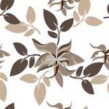 Fond floral sans couture de modèle - illustration Photos stock