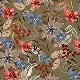 Fond floral sans couture de modèle - illustration Image stock
