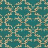 Fond floral sans couture de vintage Images libres de droits