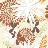 Fond floral sans joint Photographie stock libre de droits