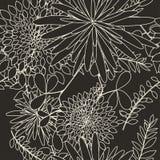 Fond floral sans joint Photo stock