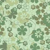 Fond floral sans joint illustration stock