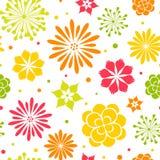 Fond floral sans joint Photographie stock