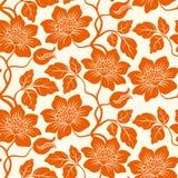 Fond floral sans joint. Images libres de droits