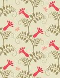 Fond floral sans joint. illustration stock