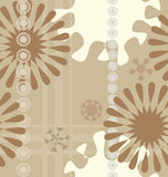 Fond floral sans joint Photos stock