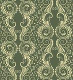 Fond floral sans joint décoratif abstrait Image libre de droits