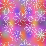 Fond floral sans joint de configuration Photos stock