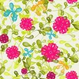 Fond floral sans joint de configuration Image stock