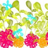 Fond floral sans joint de configuration Photo stock