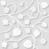 Fond floral sans joint de configuration Photo libre de droits