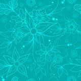 Fond floral sans joint Modèle de textile ou de papier peint illustration stock