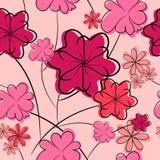 Fond floral. texture sans joint de fleur Photo libre de droits