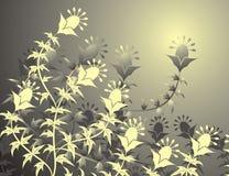 Fond floral, vecteur illustration stock