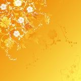 Fond floral, vecteur Image stock