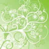 Fond floral, vecteur Photo stock