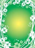 Fond floral vert Photos libres de droits