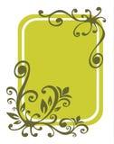 Fond floral vert Image libre de droits