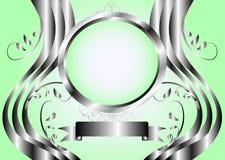 Fond floral vert abstrait Photographie stock libre de droits