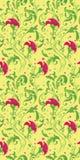 Fond floral vertical Images libres de droits