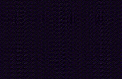 Fond foncé abstrait d'hiver avec des flocons de neige, modèle sans couture géométrique sur le noir, bleu rouge marron jaune-orang Photos libres de droits