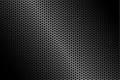 Fond foncé de fibre de carbone, illustration courante de vecteur illustration stock