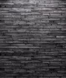Fond foncé de panneaux en bois Image libre de droits