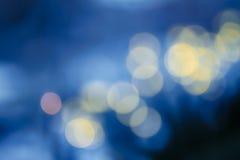 Fond foncé de recouvrement des lumières bleues de LED images libres de droits