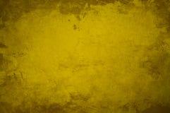 Fond foncé jaune Photos stock