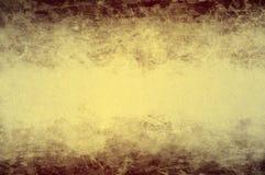 Fond foncé jaune Photographie stock