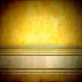 Fond foncé de yelow Photographie stock
