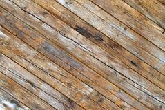 Fond. Frontière de sécurité en bois. Images libres de droits