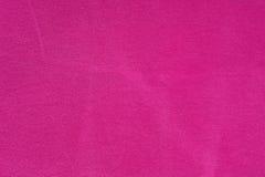 Fond fuchsia de texture de textile de coton Photo stock