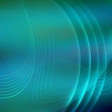 Fond futuriste avec les lignes au néon Photographie stock libre de droits