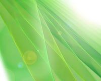 Fond futuriste vert de fractale illustration stock