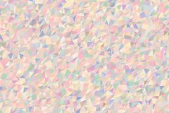 Fond génératif d'art de triangle de couleur de modèle abstrait de bande Décoration, illustration, concept et détails Image stock