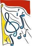 Fond génial de musique illustration stock