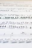 Fond génial de musique Photographie stock libre de droits