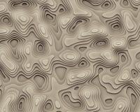 Fond géographique abstrait de courbes illustration stock