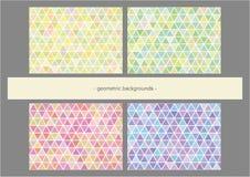 Fond géométrique Photographie stock