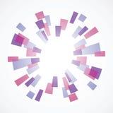Fond géométrique abstrait Photo libre de droits