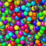 Fond géométrique abstrait Images stock