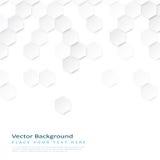 Fond géométrique abstrait avec des hexagones illustration de vecteur