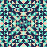 Fond géométrique abstrait avec des triangles Image stock
