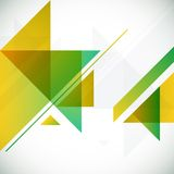 Fond géométrique abstrait avec des triangles et Photo libre de droits